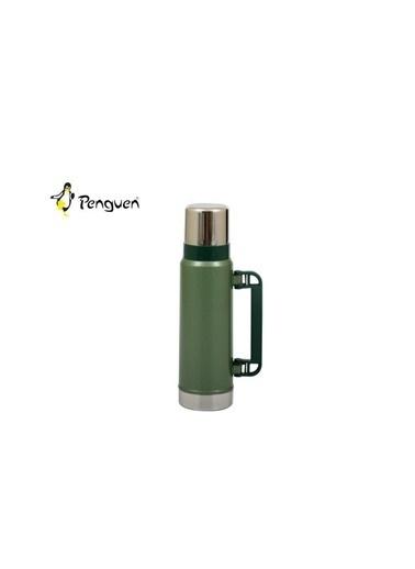 Penguen PNG-1130Y Penguen 1130Y 1.3 Litre Yeşil Avcı Termos Renkli